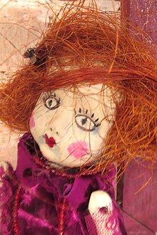 Bábiky - bábika - ružová amalia - 5139822_
