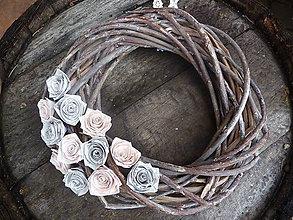 Dekorácie - ruže - vintage style - 5141728_
