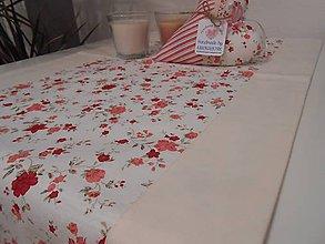 Úžitkový textil - štóla na stol 40 x 140 cm podšitá - 5146317_