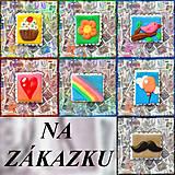 Materiál ručne robený - Polymérová poštová známka - NA ZÁKAZKU - 5143811_