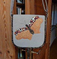 Kabelky - s motýľom - 5149749_
