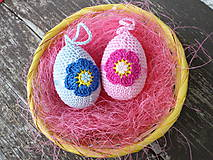 Veľká Noc - vajíčko s kvetinou :) - 5147992_