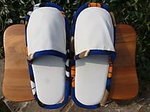 Béžové papuče