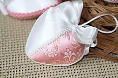 Dekorácie - ružové srdiečka - 5150130_