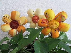 Dekorácie - kvetinka-zápich - 5151006_