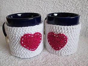 Drobnosti - zamilovaný šálkový svetrík - 5151166_