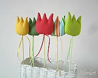 Tulipány - farebný mix