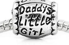 Pandorková korálka DADDYS LITTLE GIRL