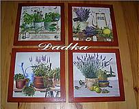 Obrázky - 4 krásne bylinkové obrázky vhodné aj ako darček - 5148132_