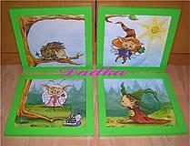 Obrázky - Do detskej izbičky obrázky sada - 5150868_