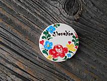 Magnetky - okrúhla magnetka Slovakia 7 - 5149125_