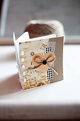 Papiernictvo - Mini s mašľou - 5154607_