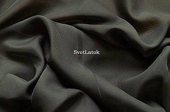 Textil - Šifón čierny - 50 cm - 5155973_