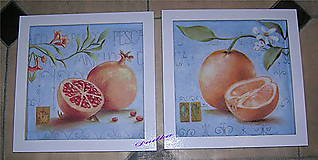 Obrázky - Granatové jablko a pomaranč  - 5155327_