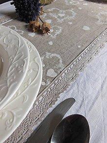 Úžitkový textil - Ľanová štóla Pure Nature II - 5152169_