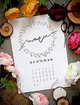 Papiernictvo - Kalendár na tlač - 5159154_