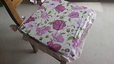 Úžitkový textil - Makové podsedáky :-) - 5160927_