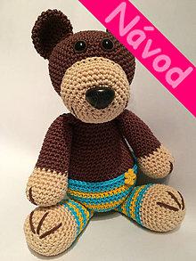Návody a literatúra - Návod na medvedíka - TEDDY - 5158289_
