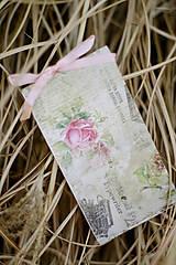 Papiernictvo - S ružičkami VÝPREDAJ! - 5158175_