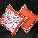 Úžitkový textil - Motýle na vankúšoch - 5156626_