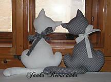 Dekorácie - mačičky do okna - 5160853_