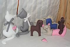 Dekorácie - mačičky do okna - 5160855_