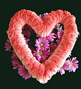 Dekorácie - ❤️ Srdce na zjedenie ❤️ - 5162079_