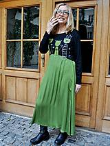 Šaty - Šaty Zelené tulipány - 5162208_