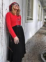 Šaty - Šaty Červené tulipány - 5162238_