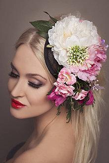 Ozdoby do vlasov - fascinátor by michelle flowers - 5166247_