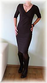 Šaty - Šaty vz.146(více barev) (Čierna) - 5168093_