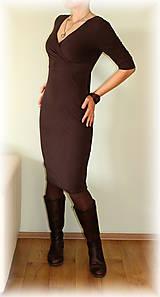 Šaty - Šaty vz.146(více barev) (Čierna) - 5168097_