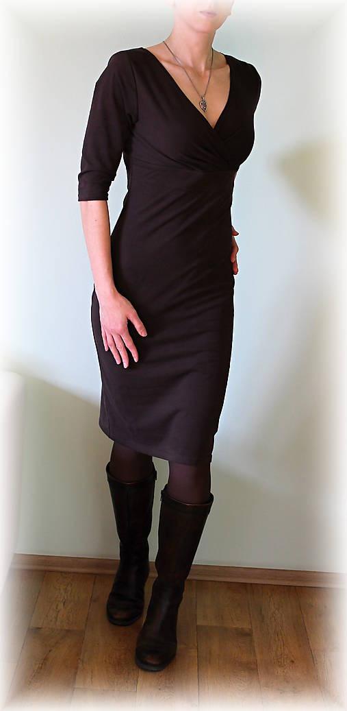Šaty vz.146(více barev) (Čierna)