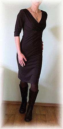Šaty - Šaty vz.146(více barev) (Čierna) - 5168090_