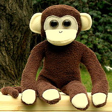 Hračky - opička čokoládka - 5169262_