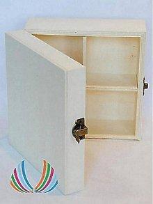 Polotovary - Krabica so 4 priečinkami, ihneď - 5168628_