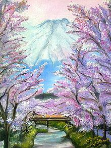 Obrazy - jar pod Fujisanom - 5171055_