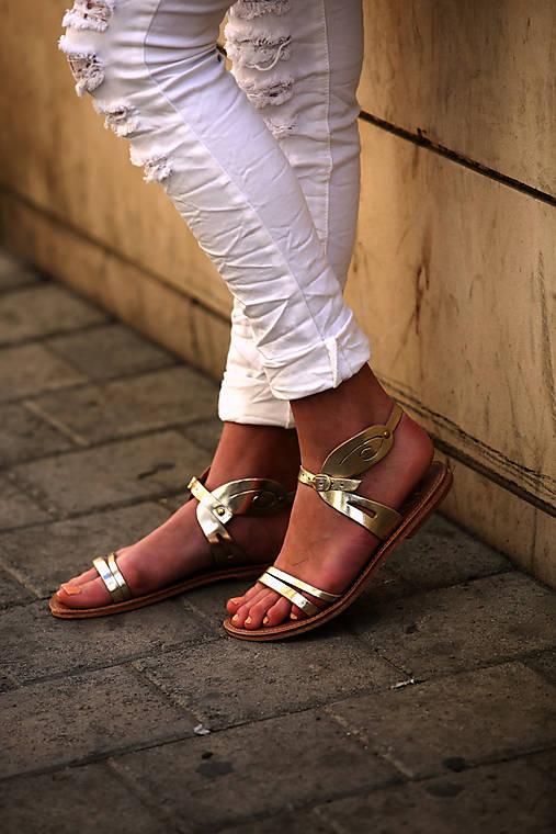 33362e19ee3f Štýlové kožené sandále   OliveLand - SAShE.sk - Handmade Obuv