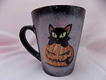 Nádoby - Hrncek - halloween Kitty 2 - 5176692_