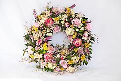 Dekorácie - Kvitnúca lúka... - 5179567_