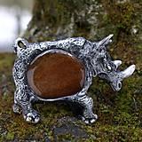 Iné šperky - divoký nosorožec - 5179554_