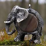 Náhrdelníky - sloník - 5179685_