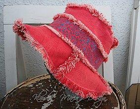 Čiapky - klobúk recy jeans - 5179901_