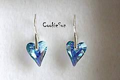 Náušnice - Náušnice Wild Heart Aquamarine AB - 5181293_