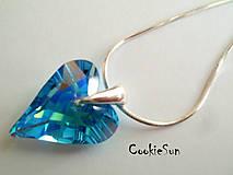 Náhrdelníky - Prívesok Wild Heart Aquamarine AB - 5181321_