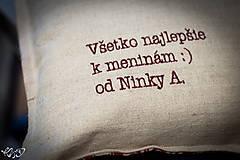 """Úžitkový textil - Vankúšik """" tanečnica Dida"""" - 5186558_"""