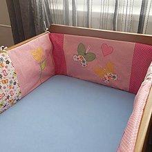 Textil - Hniezdo do postielky-motýlik - 5184714_