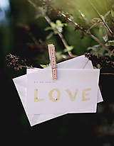 Papiernictvo - Láska v hrsti ..darčeková kartička - 5186503_