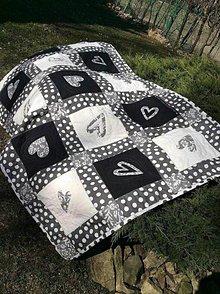 Úžitkový textil - Black & white - 5183107_