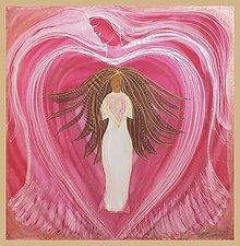 Šatky - Srdce Ženy - 5183808_